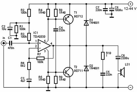 Viewthread 71 7343 on subwoofer power amplifier circuit diagram