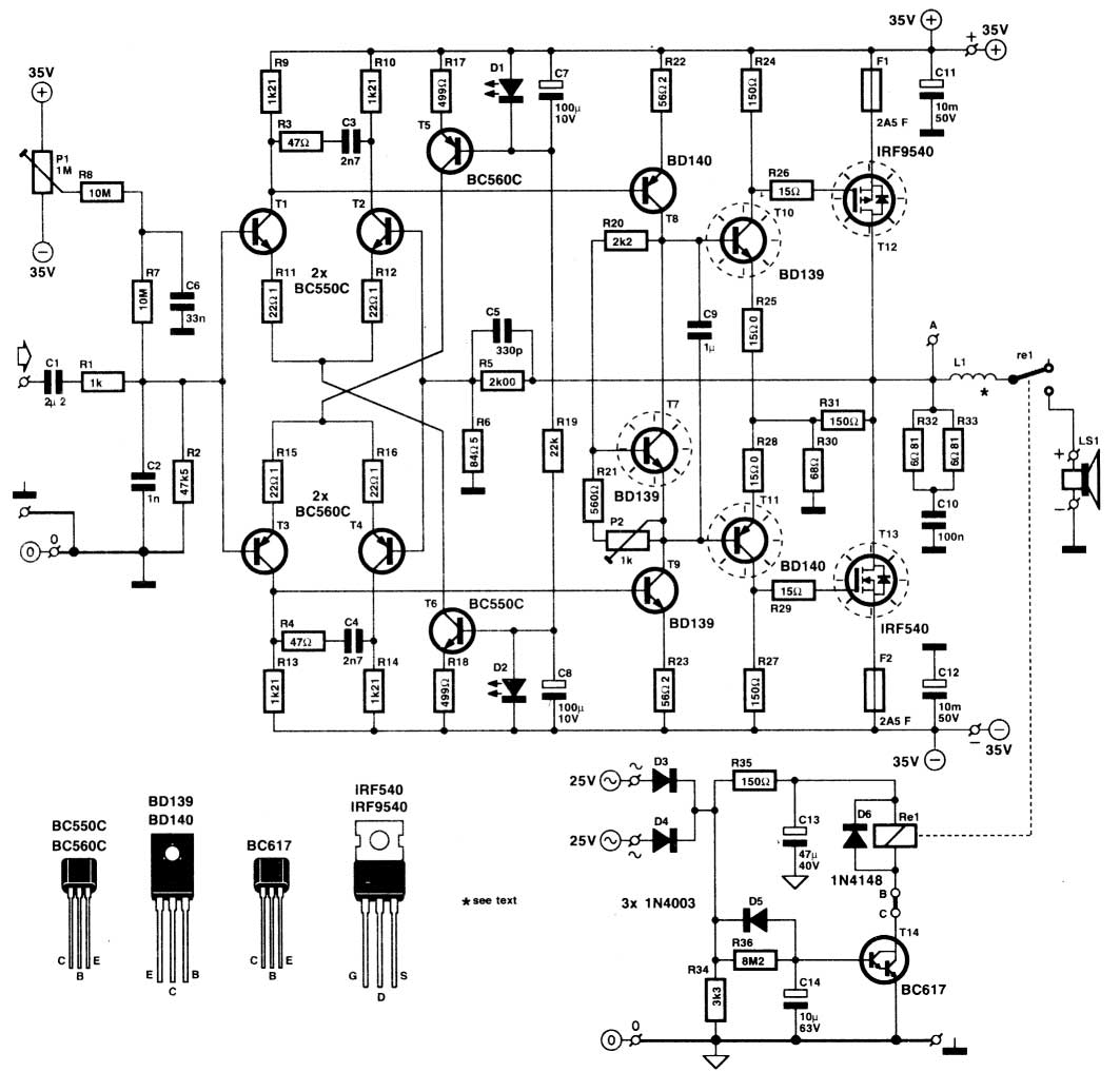 irf640  9640 in amplifiers