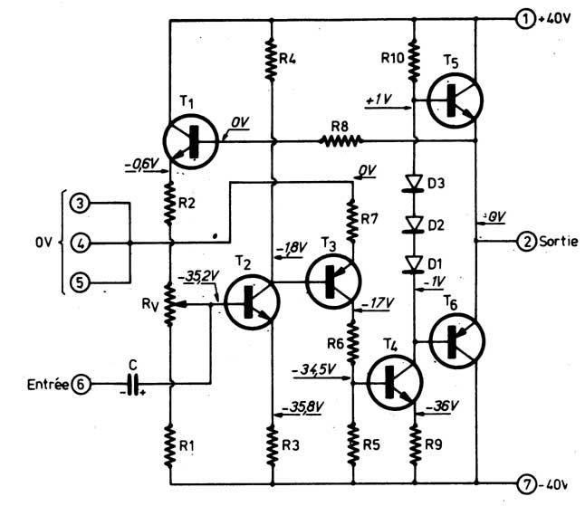 Schemi Elettrici Amplificatori Audio Con N : Progettare ampli di potenza a transistor in classe b