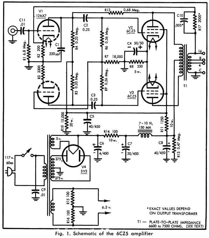 kt88 tube amplifier schematics