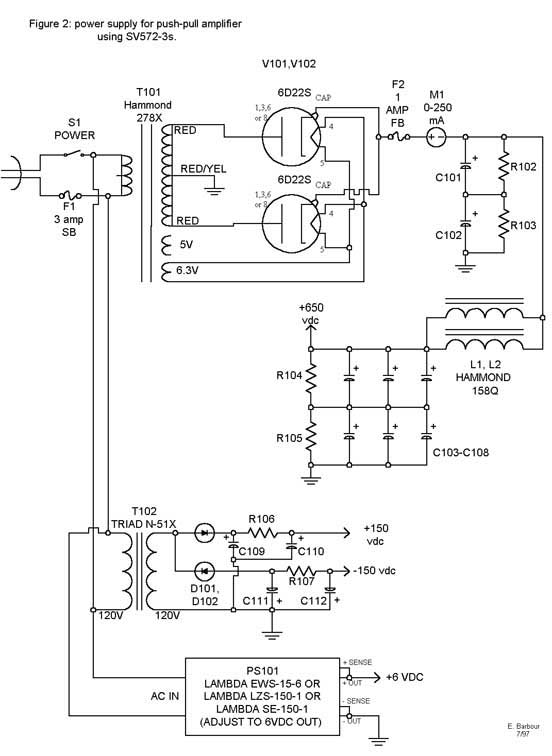 Tube S Images Kt88 Pp Schematic