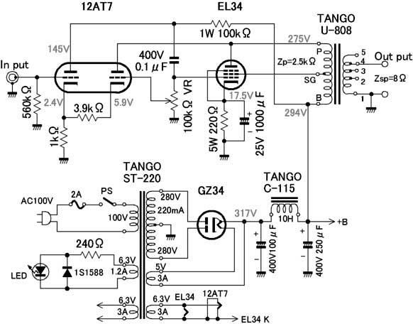 电路 电路图 电子 原理图 582_456