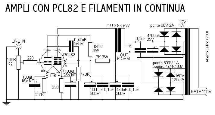 Schemi Elettrici Hi Fi : Amplificadores de baja frecuencia